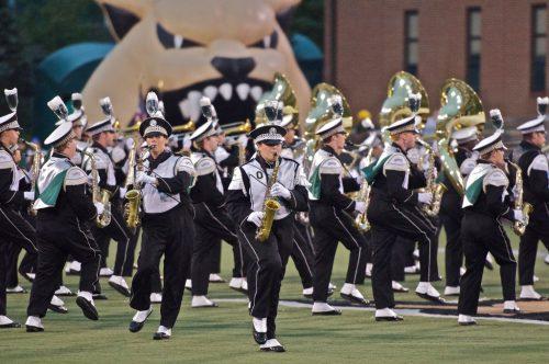 Ohio Bobcats marching band