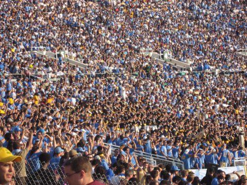 UCLA Bruins fans