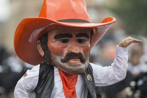 Oklahoma State Cowboys mascot Pistol Pete