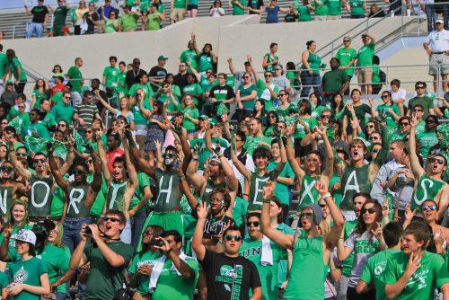 Eagle Claw North Texas Mean Green fans