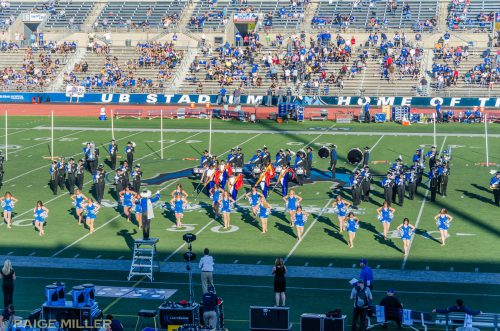 UB Football Thunder of the East Marching Band