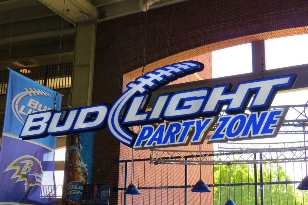 M&T Bank Stadium Bud Light Party Zone