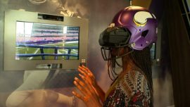virtually compete against current and former Minnesota Vikings players