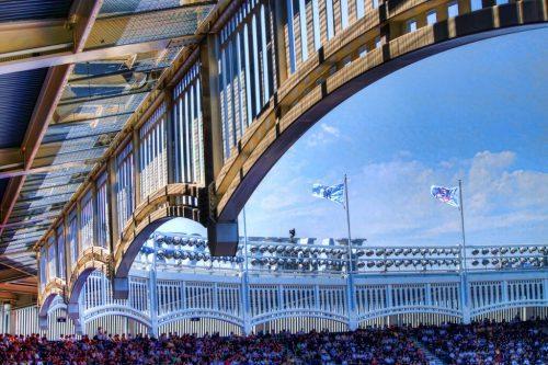 Frieze Yankee Stadium