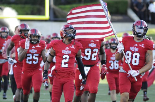 The Entrance football team of Arkansas State Red Wolves