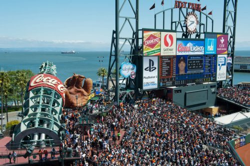 Fan Lot Coca Cola San Francisco Giants Stadium