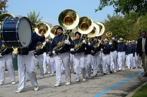 Akron Zips Marching Band
