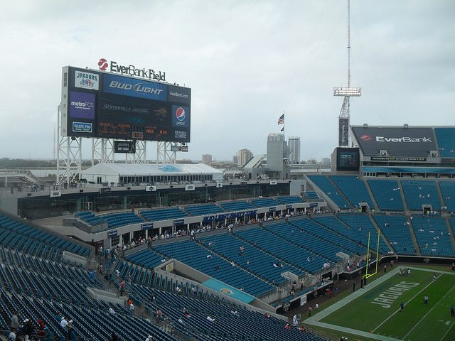 Jacksonville Jaguars stadium TIAA Bank Field