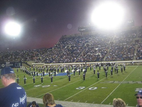 Aggies Marching Band Utah State Aggies homecoming