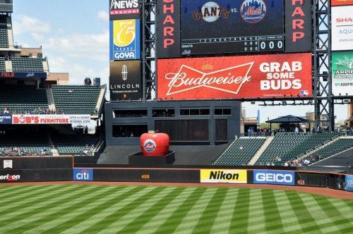 Home Run Apple New York Mets