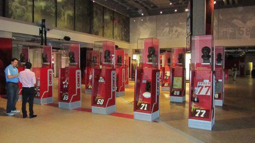 Kansas City Chiefs Hall of Fame at Arrowhead Stadium