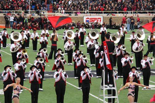 Texas Tech Goin Band from Raiderland