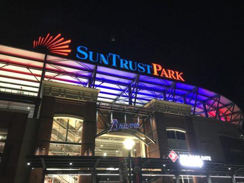 Organist Atlanta Braves SunTrust Park
