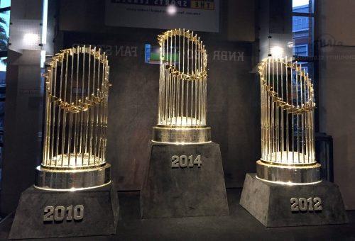 Trophies San Francisco Giants