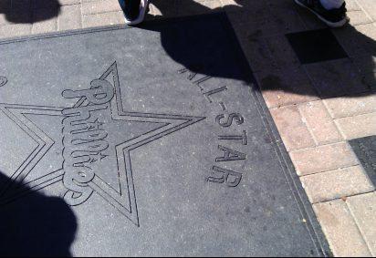 All Star Phillies walk