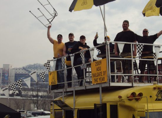 App State Mountaineers tailgaters