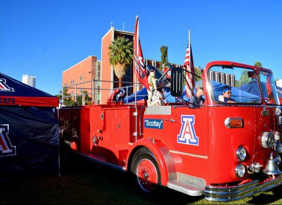 Arizona Wildcats tailgate