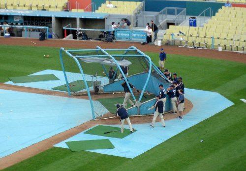 Batting Practice San Diego Padres