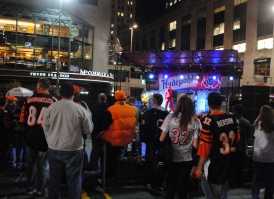 Cincinnati Bengals Tailgate on the Square