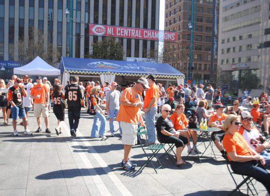Cincinnati Bengals Tailgate on Fountain Square