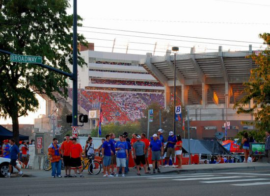 Boise State Broncos football fans