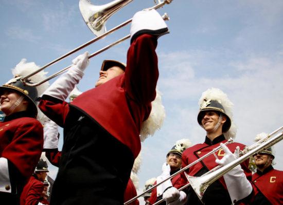 CMU Chippewas marching band