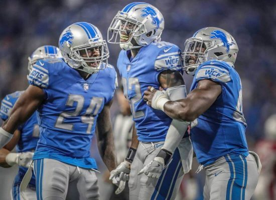 Detroit Lions football players