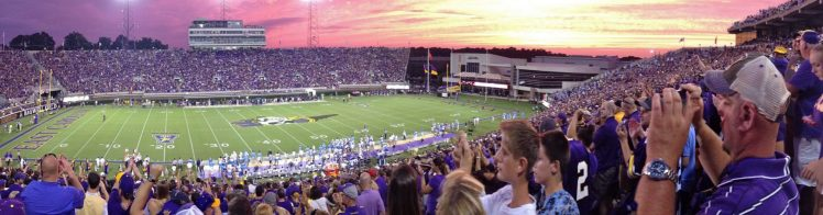 Home of the ECU Pirates Dowdy Ficklen Stadium