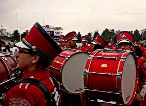 Fresno State Bulldogs marching band