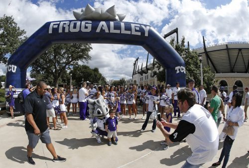 TCU Horned Frogs Frog Alley