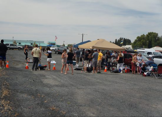 Idaho Vandals tailgate party