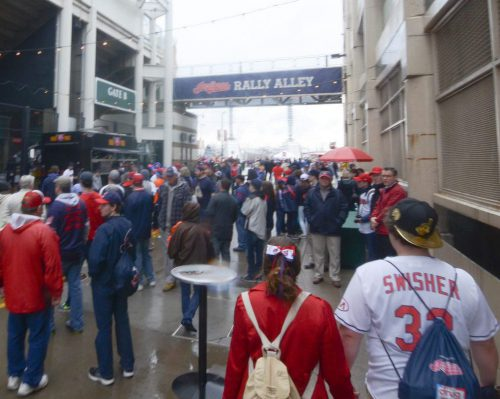 Cleveland Indians at Progressive Field Gate B Rally Alley