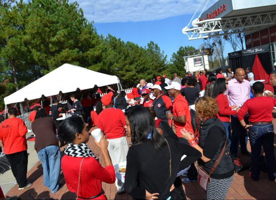 NC State Wolfpack homecoming tailgate