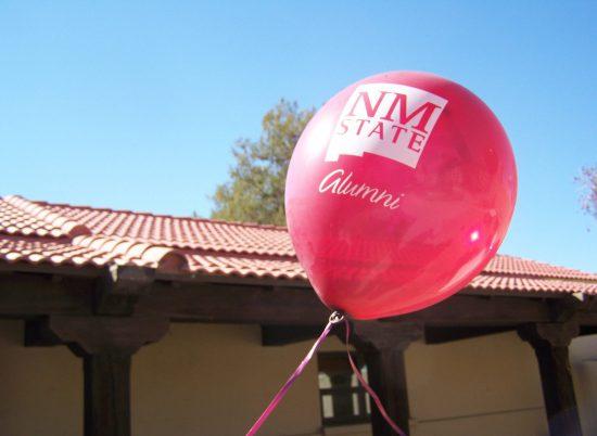 NMSU Aggies alumni red balloon