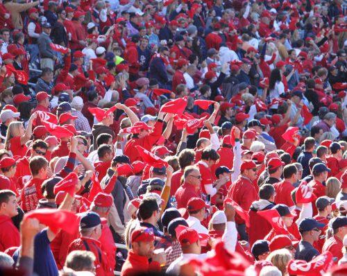 Washington Nationals fans at Nationals Park