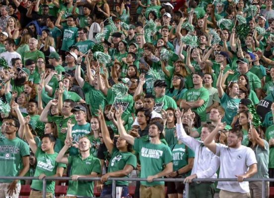 North Texas Mean Green fans
