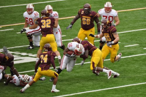 Badgers vs Gophers football game