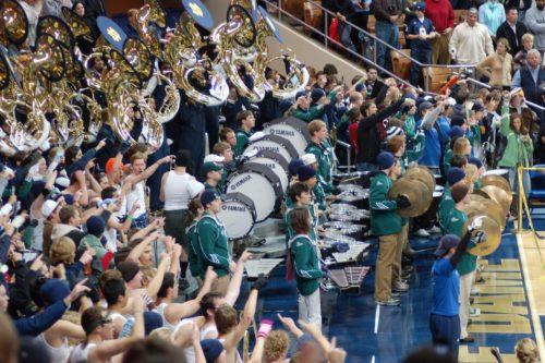 Notre Dame Fighting Irish marching band