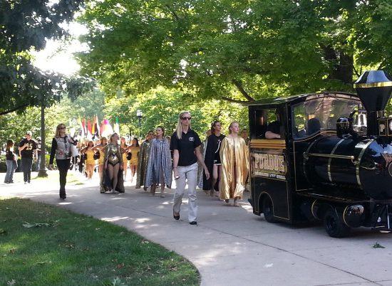 Purdue Boilermakers parade football gameday
