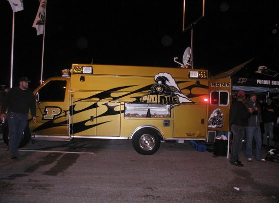 Purdue Boilermakers truck