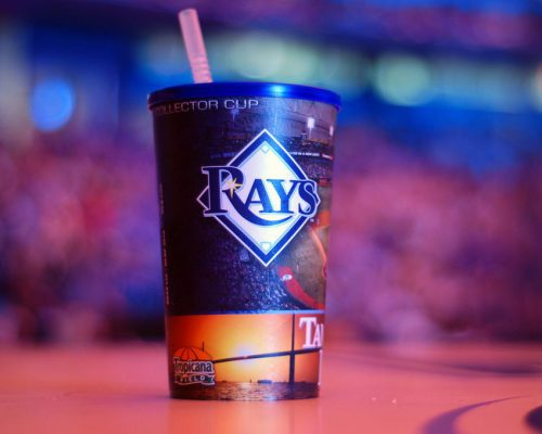 Tampa Bay Rays collector cup