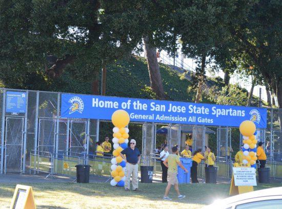 San Jose State Spartans tailgate