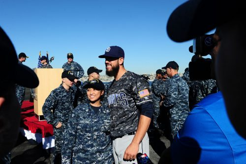 Sunday Military Tribute San Diego Padres