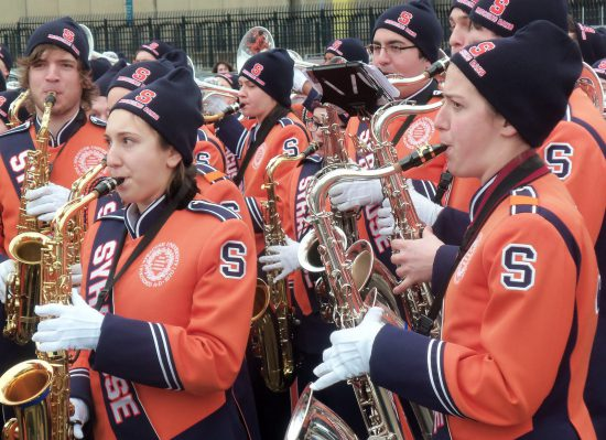 Syracuse Orange band