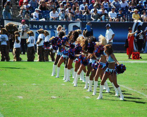 NFL Tennessee Titans Cheerleaders performance