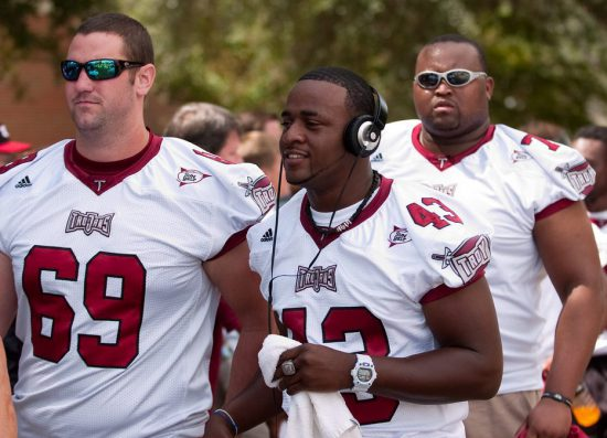 Troy Trojans football players
