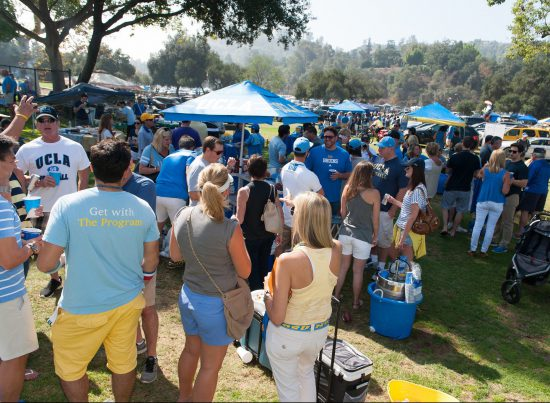 UCLA Bruins tailgate party