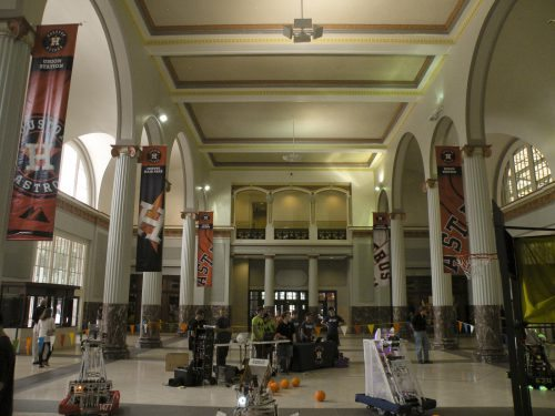 Astros Union Station Lobby