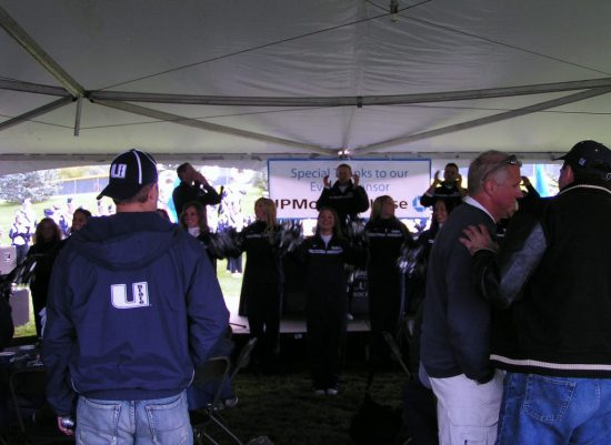 Utah State Aggies tailgate party