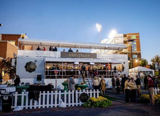 Wake Forest Demon Deacons Unrivaled tailgate party
